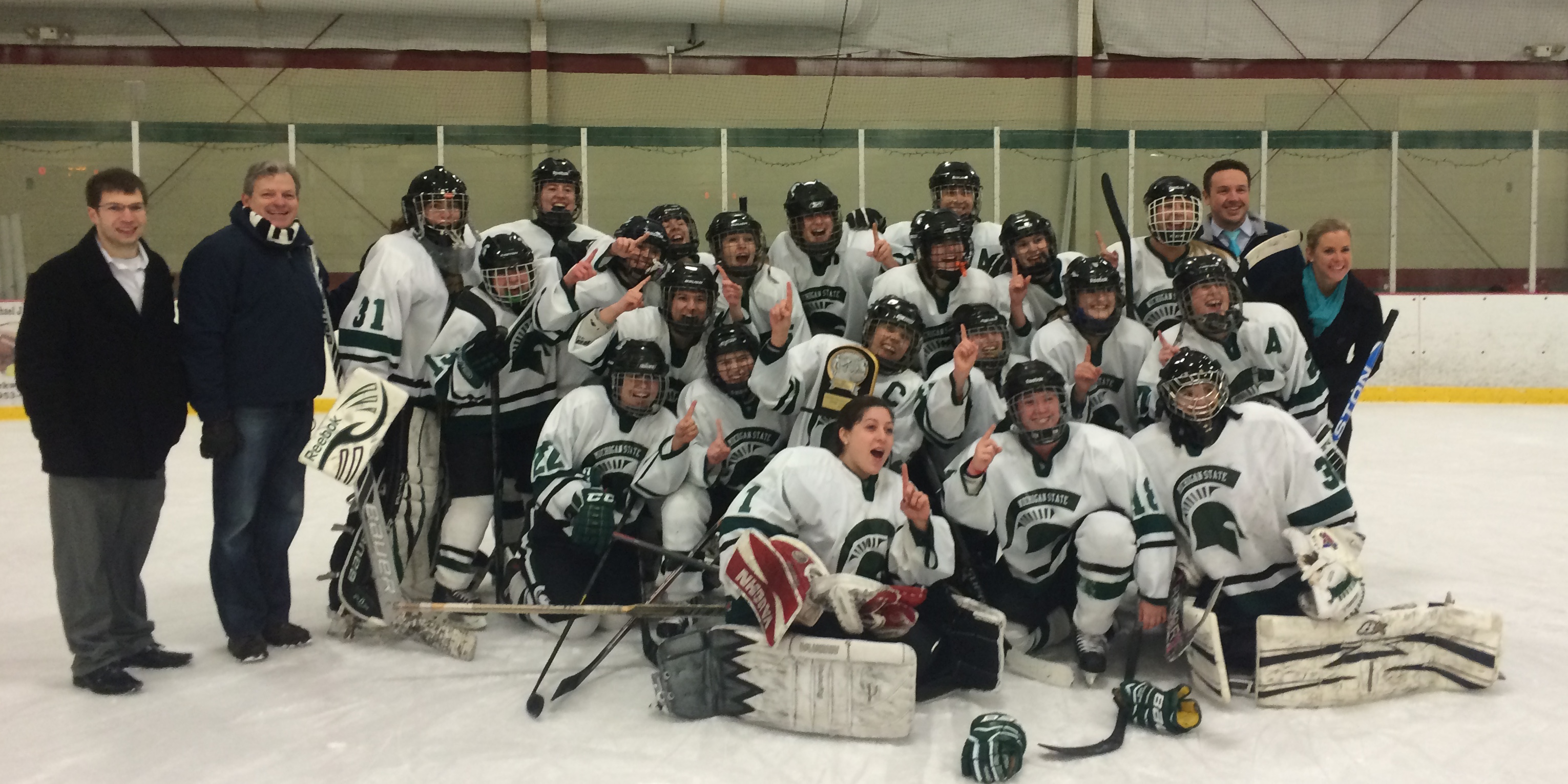CCWHA Champs – Michigan State!
