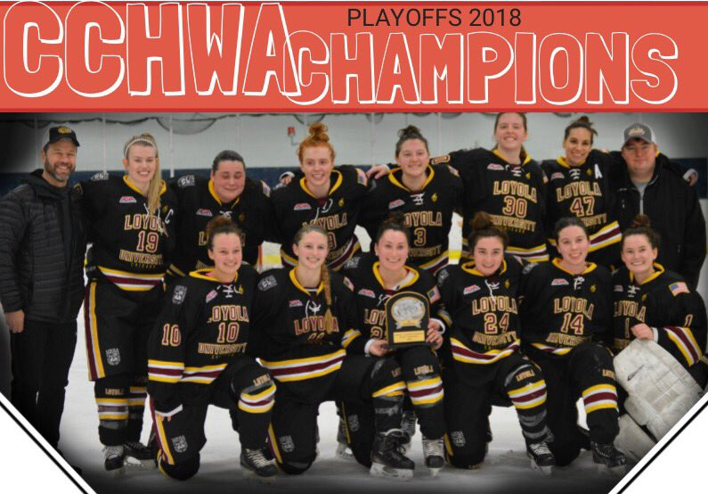 RECAP: Loyola Wins 2018 CCWHA D2 Playoffs